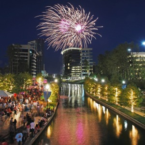 July 4th Fireworks The Woodlands Texas