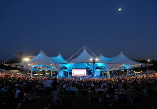 Cynthia Woods Mitchell Pavilion's stage