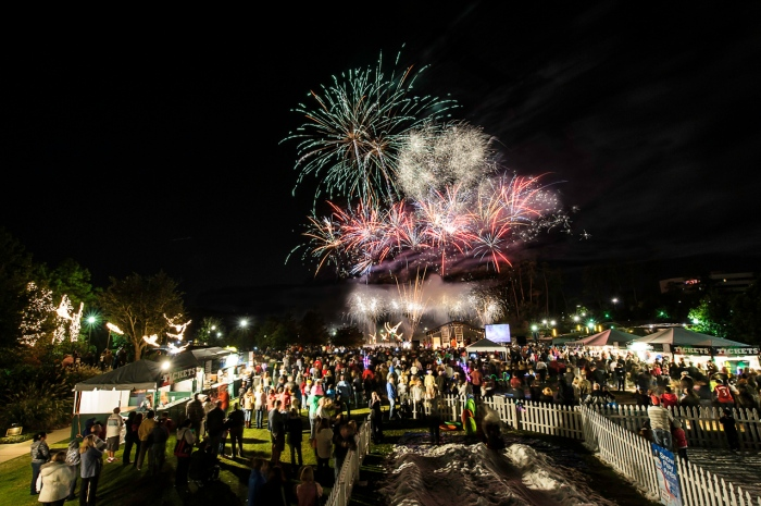 Lighting of the Doves and Fireworks 2012 (low res)